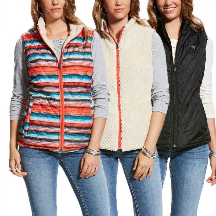 Ariat Womens Hallstatt Reversible Vest
