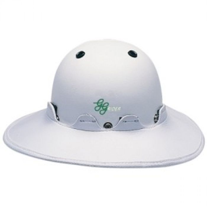 Helmet Brim - White