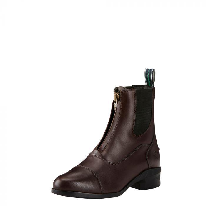 Ariat Womens Heritage IV Zip Paddock Boot - Light Brown