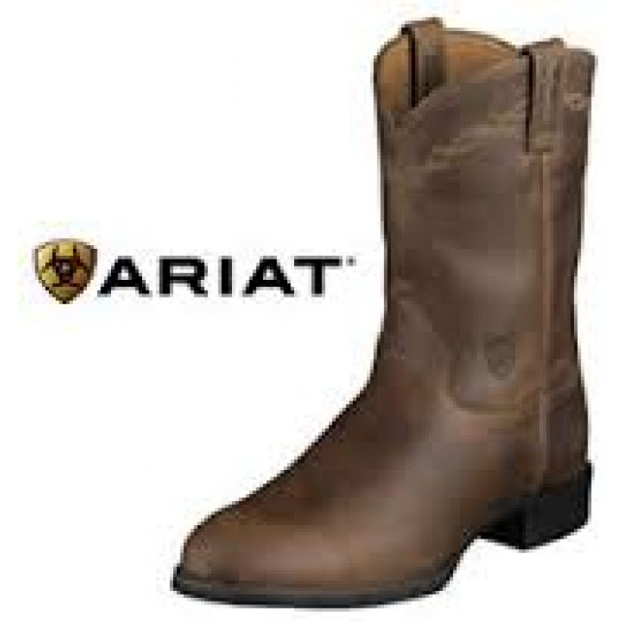 Ariat Kids Heritage Roper - Distressed Brown