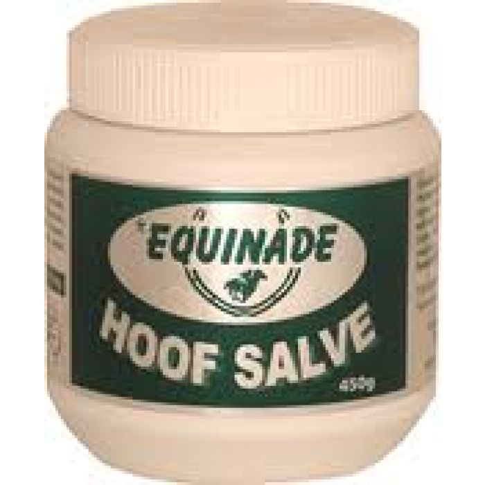 Equinade Hoof Salve - A hoof moisturiser to help prevent sand cracks and splits. Ideal for wet or dry weather conditions