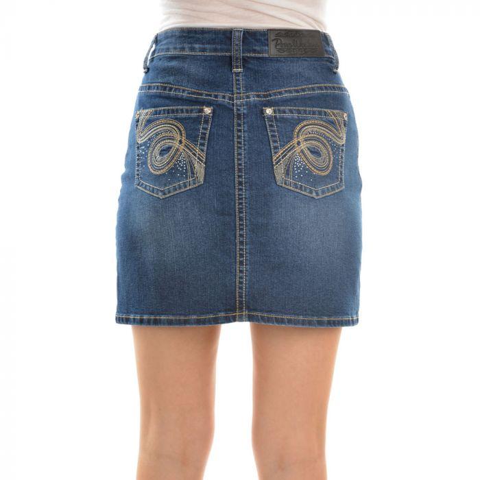 Pure Western Women's Hope A-Line Denim Skirt