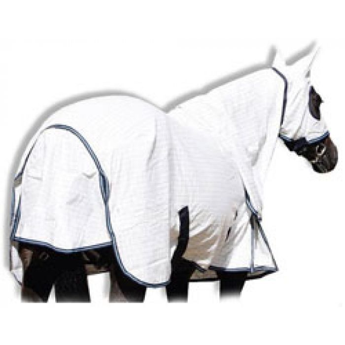 Wild Horse Insect Control Ripstop Horse Rug with Hood and Ears
