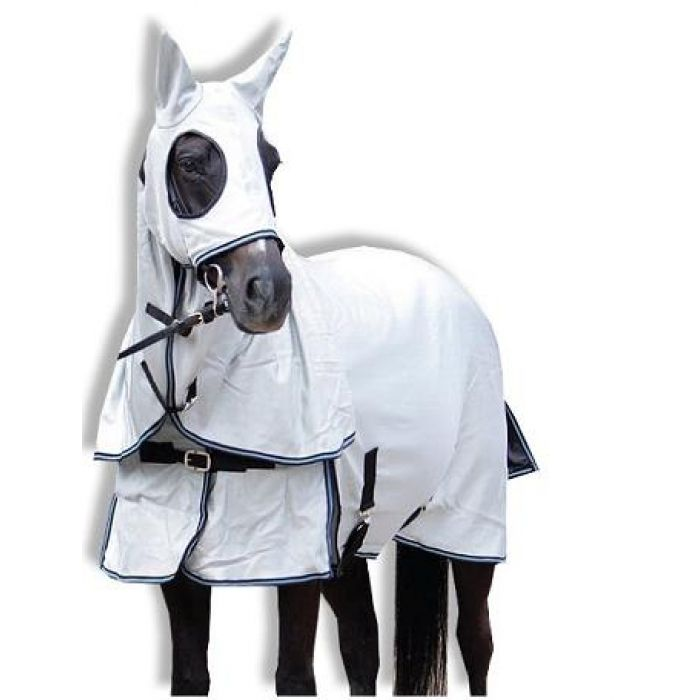 Insect Control Horse Rug - Wild Horse Insect Shield Mesh Horse Rug with Hood and Ears