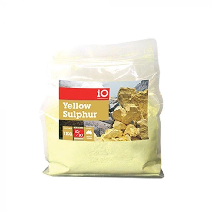 iO Sulphur Powder Yellow