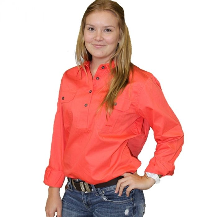 JAHNA Work Shirt - 1/2 Button