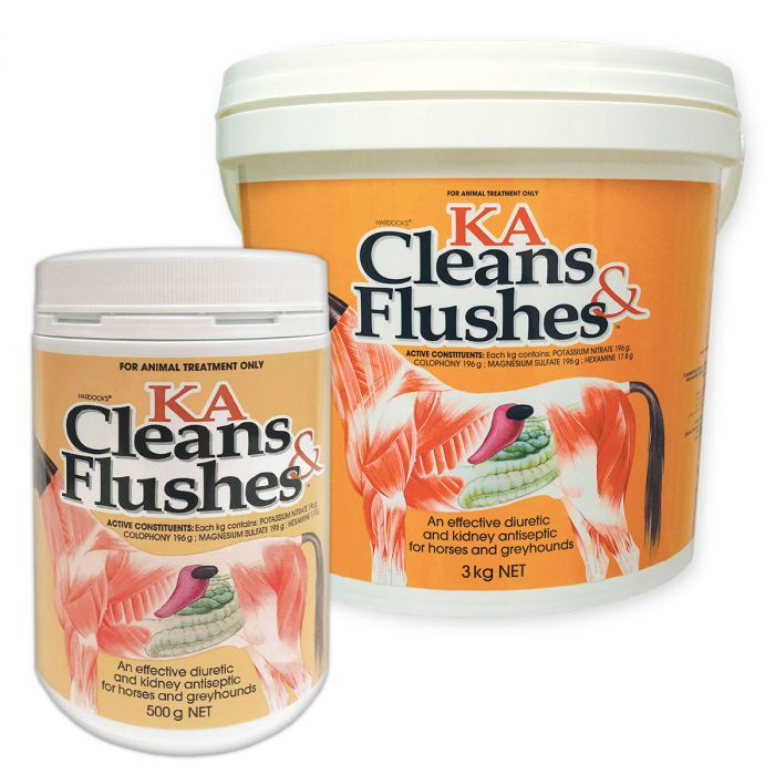 KA Cleans and Flushes