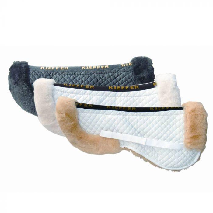 Kieffer Merino Fleece Saddle Pad - Cream - Medium