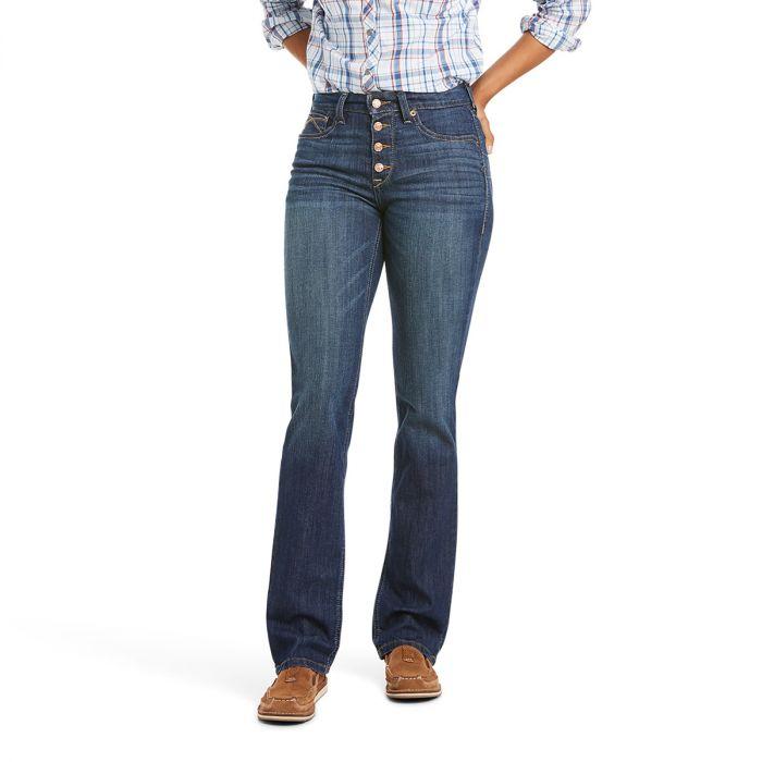 Ariat REAL Jean High Rise - Straight Leg - Kirsten