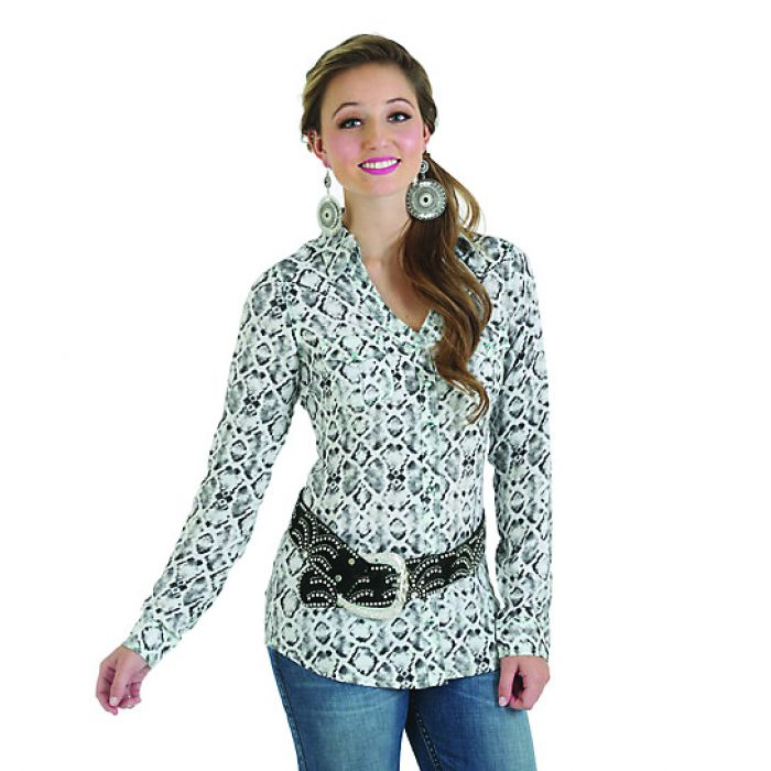 Rock 47 L/Sleeve On Point Front and Back