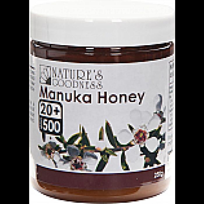Natures Goodness Manuka Honey 250g MGO500