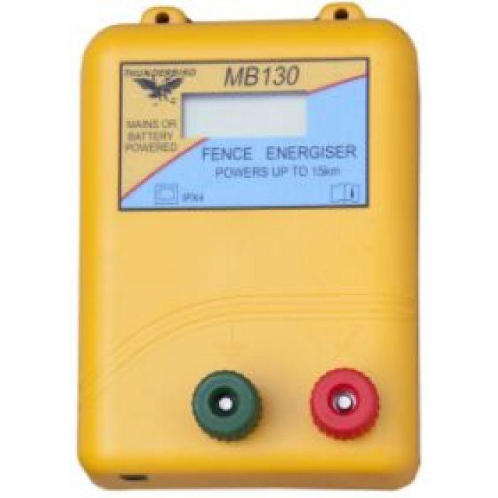 MB130 - Main/Battery Energiser 15km
