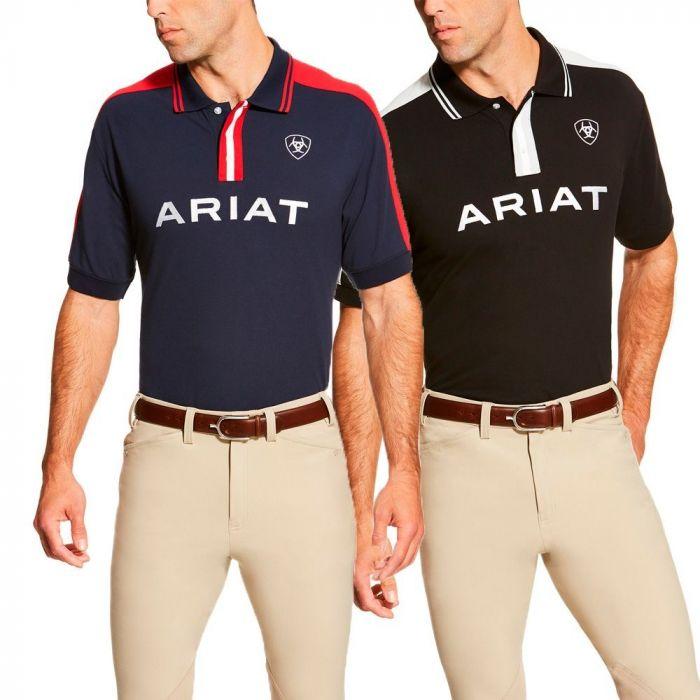 Ariat Mens Team Polo