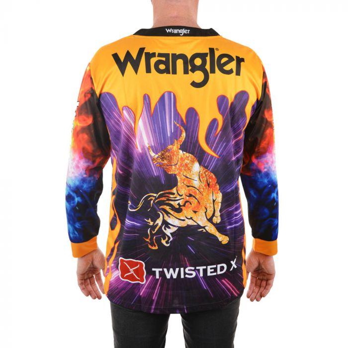 Wrangler Mens Wrangler L/S Fishing Shirt