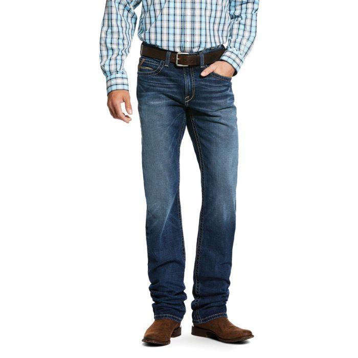ARIAT Mens M1 Jeans - Flintridge Straight Leg - Travis