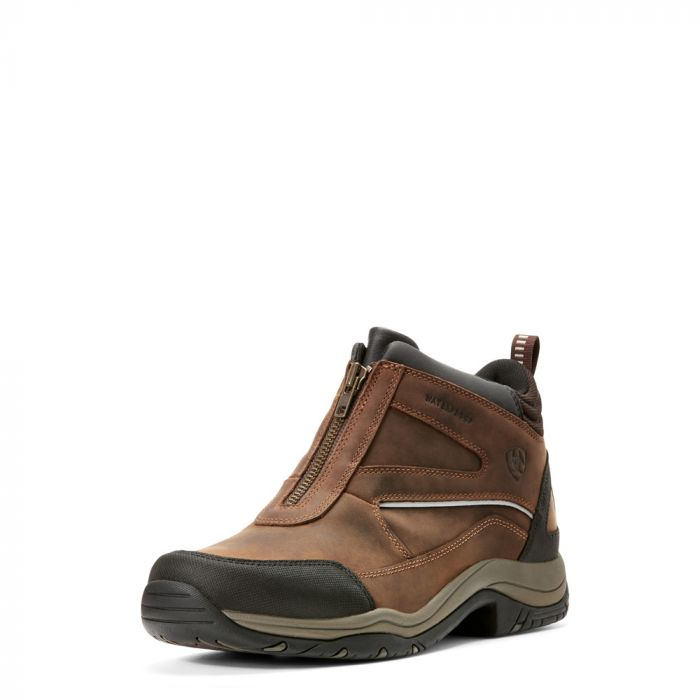 Ariat Mens Telluride Zip H2O Boot - Copper - Front