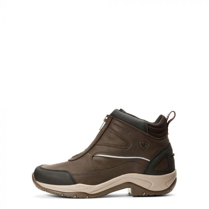 Ariat Womens Telluride Zip H2O Boot - Dark Brown