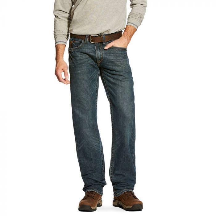 ARIAT M4 Rebar M5 Slim Straight Cut Jeans - Ironside