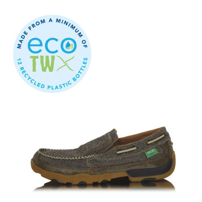 Mens ECO TWX Slip-on Driving Moccasins – Dust