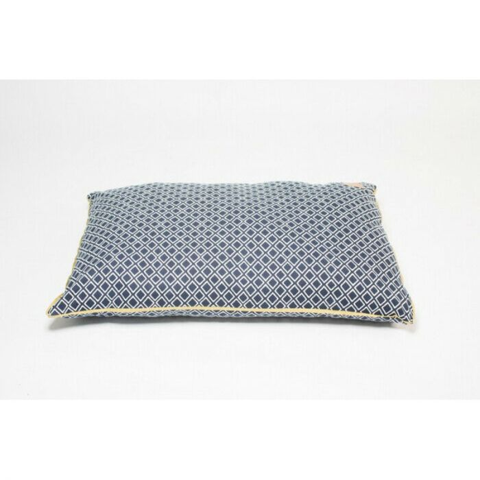 Mog and Bone Futon Bed - Navy Ikat Print