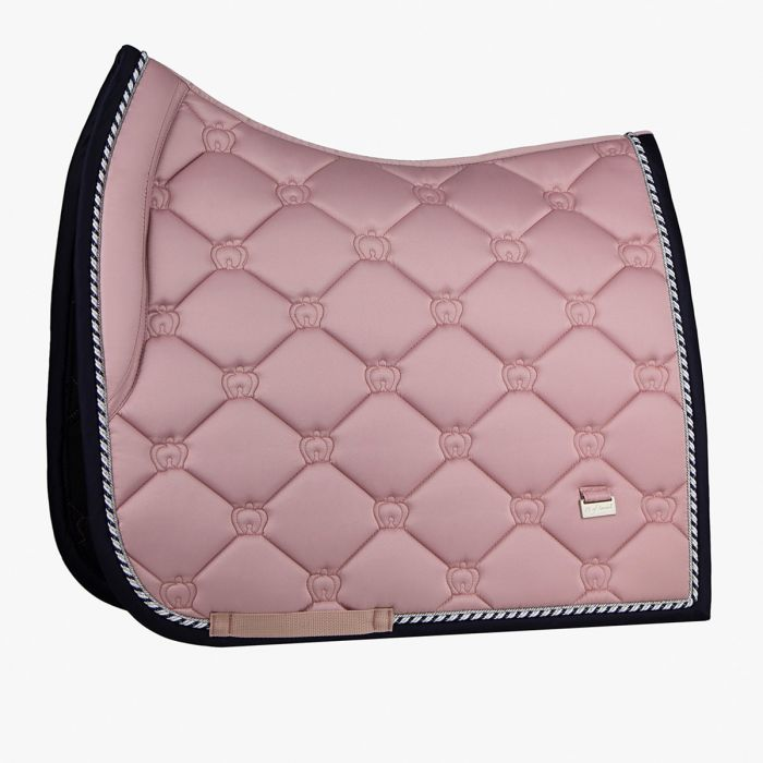 PSOS Monogram Dressage Saddle Pad - Pink - Full