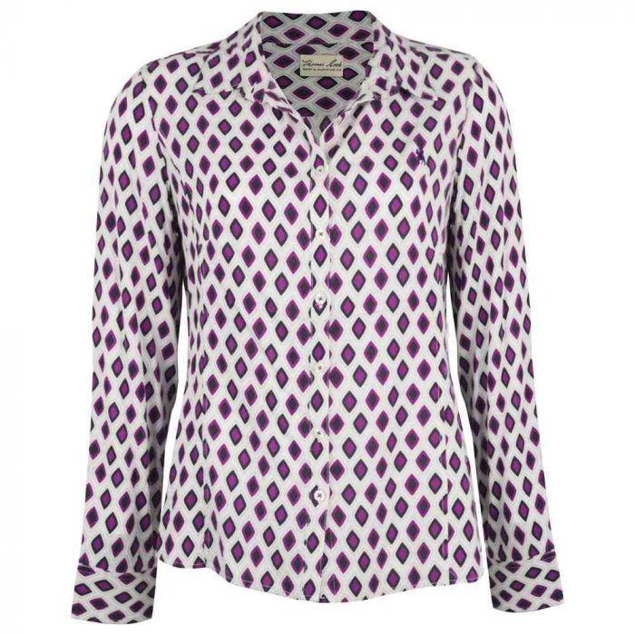 Thomas Cook Nerang  Long Sleeve Printed Shirt