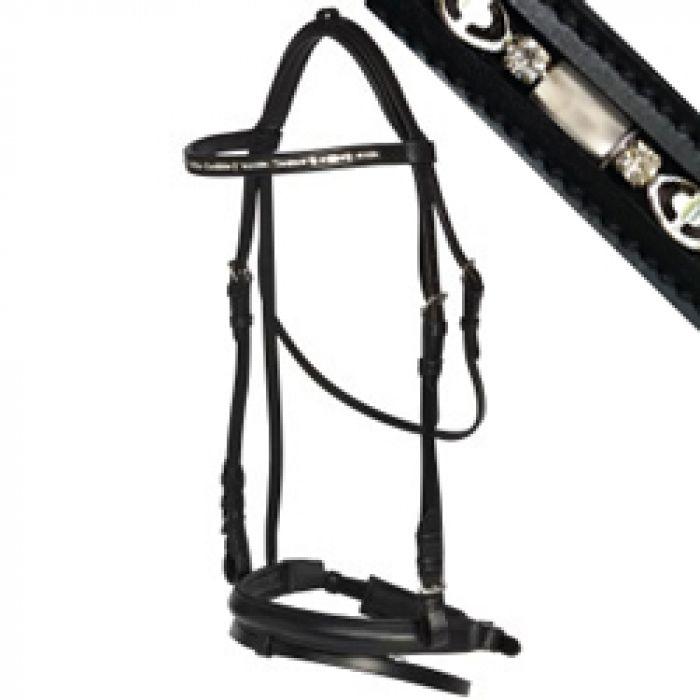 Norfolk Black Dressage Bridle