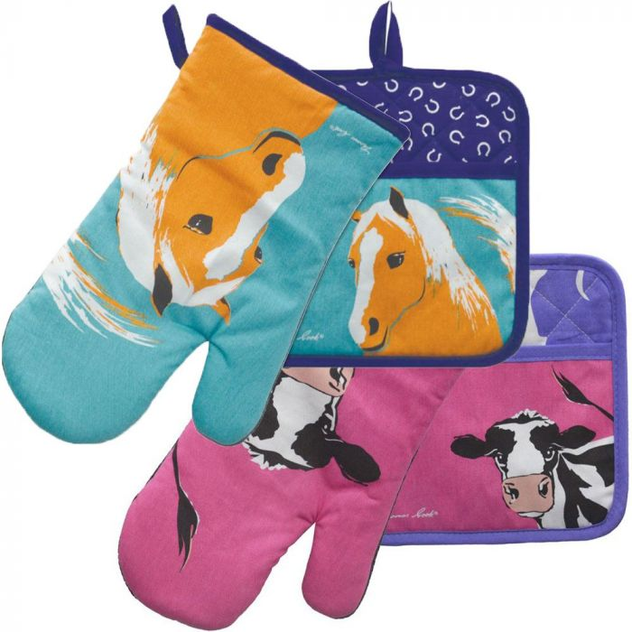 Thomas Cook Oven Mitt and Pot Holder