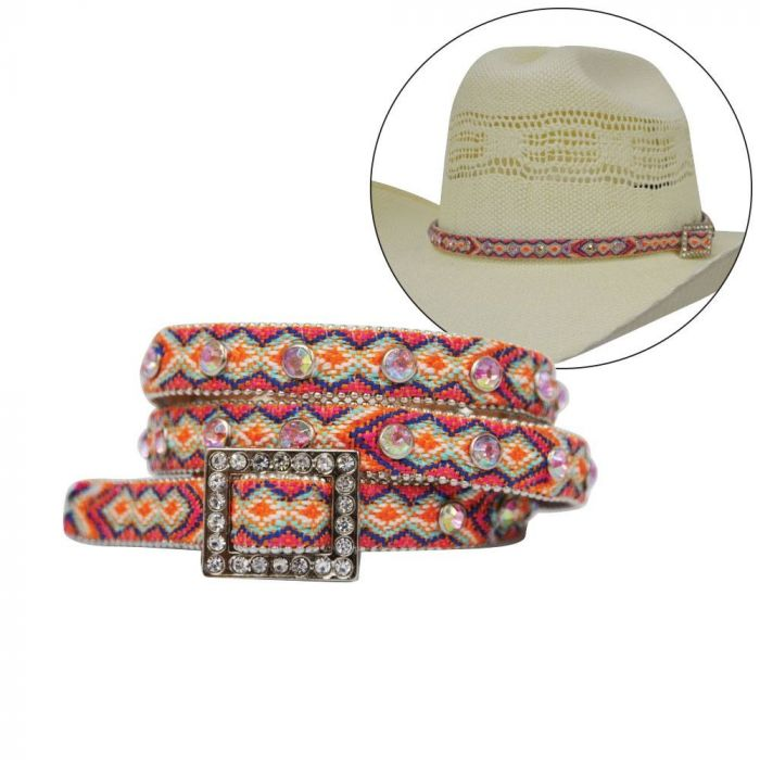 Pure Western Ladies Georgia Hat Band