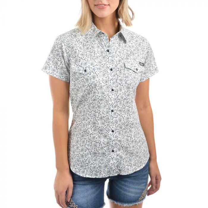 Pure Western Ladies Rennie Short Sleeve Shirt
