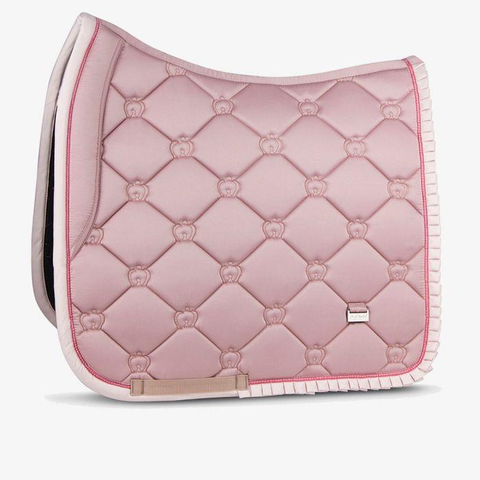 PSOS Ruffle Dressage Saddle Pad - Pink