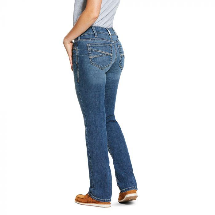 Ariat Women's R.E.A.L. Riding Jeans - Low Rise - Straight Cut - Presley Reverie