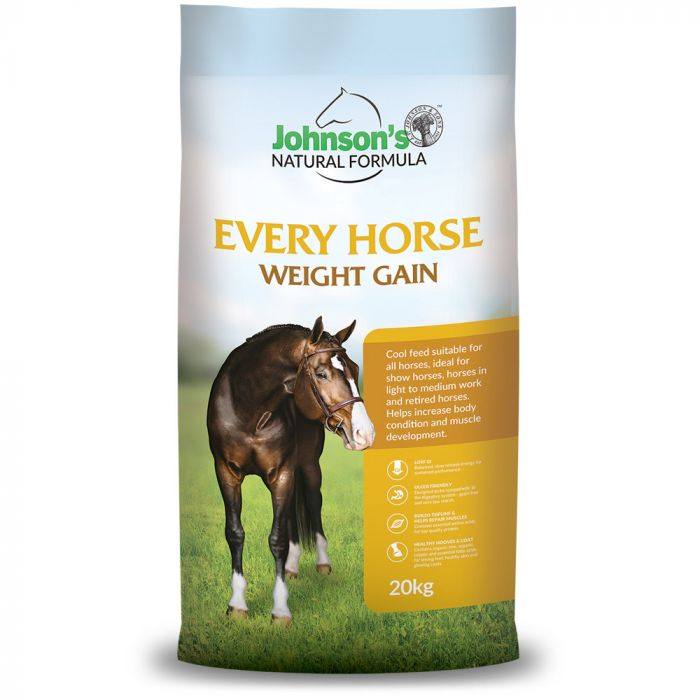 Every Horse Weight Gain 20kg - Johnsons