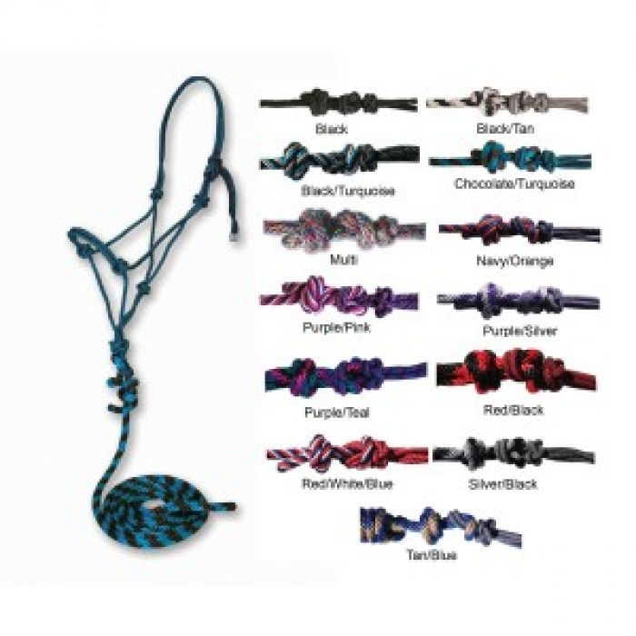 Professional's Choice Rope Halter & Lead