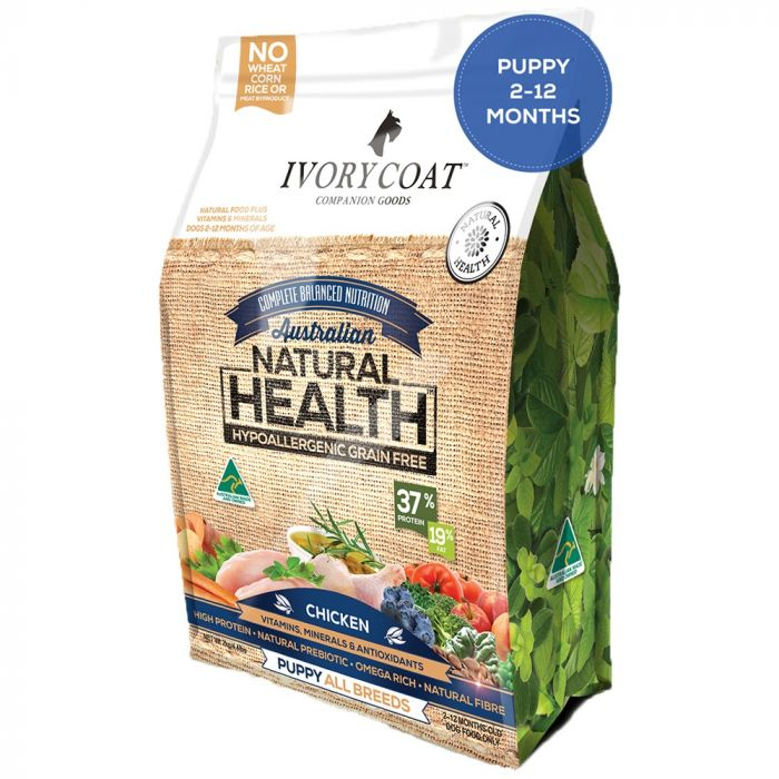 Ivory Coat Puppy - Chicken Grain Free Food