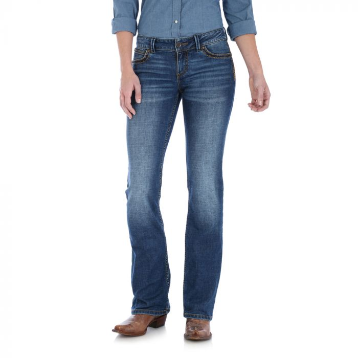 Wrangler Womens Retro Jeans - 07MWZAA34 - Sadie