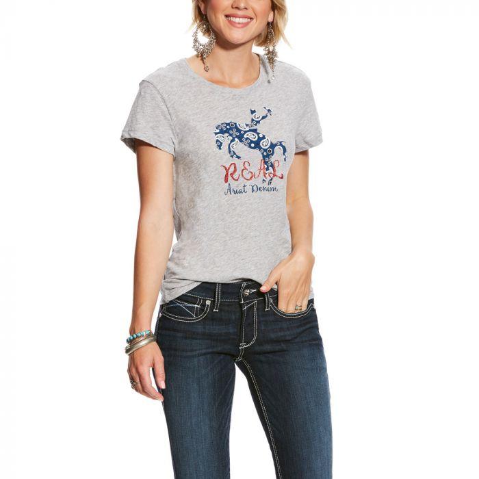 Ariat Ladies R.E.A.L Rider Tee