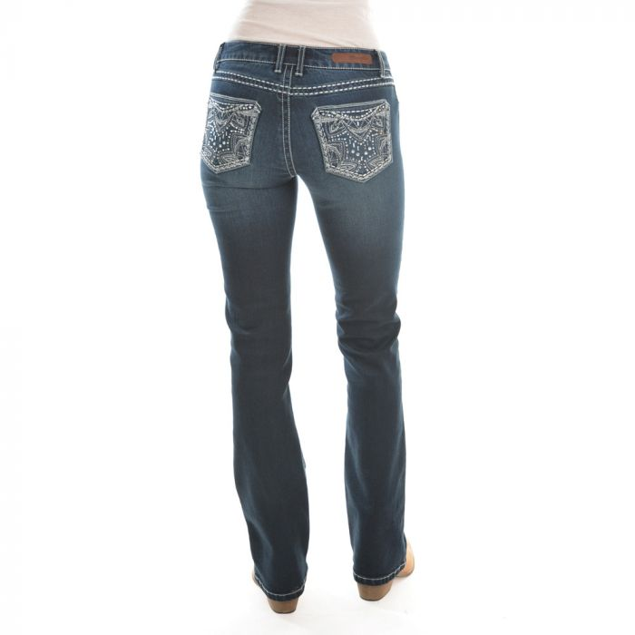ROCK 47 by Wrangler Boot Cut Jeans - Midnight