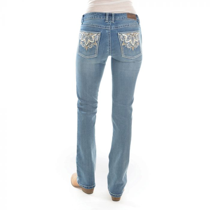 ROCK 47 by Wrangler Boot Cut Jeans - Moonshine