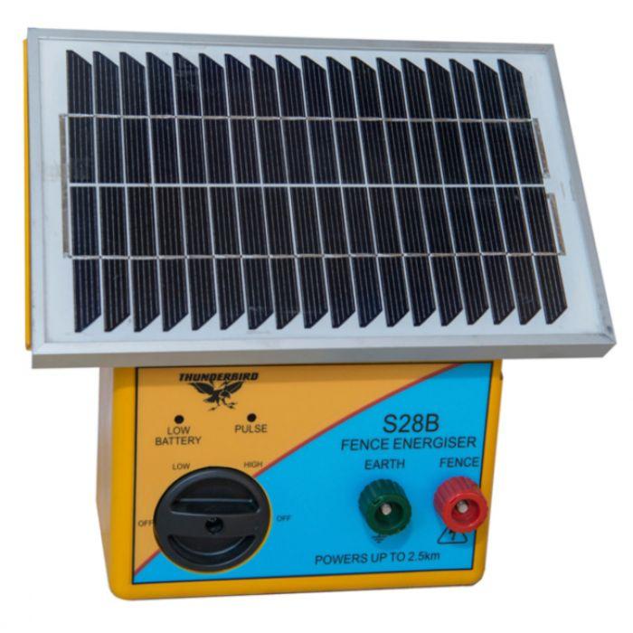 Solar Energiser 2.5km with Battery