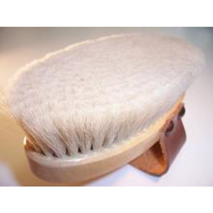 Salmon Goat Hair Body Brush