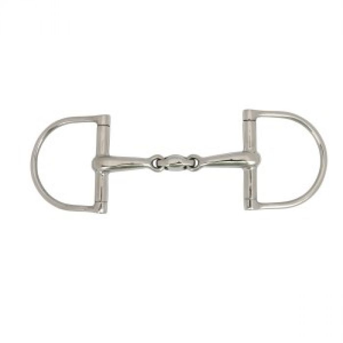 Sheffield Xtra Control D Ring French Link Bit - 14.5cm