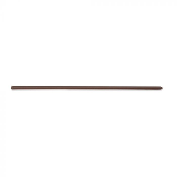 Shires Plain Leather Show Cane - Brown