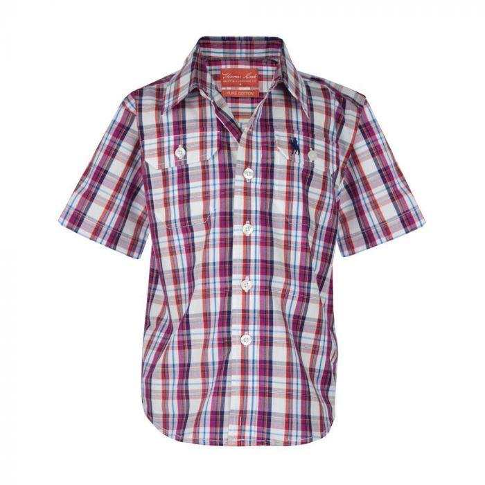 Thomas Cook Boys Corbett Check Shirt