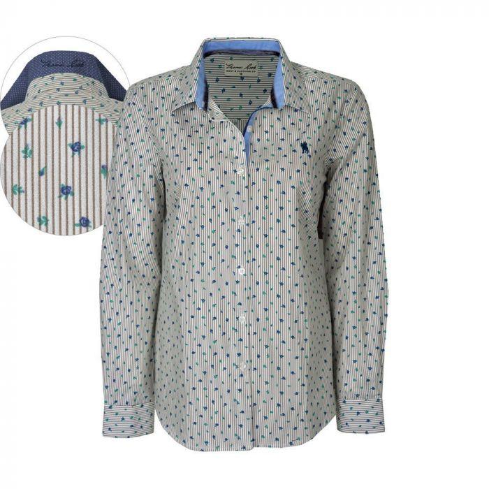 Thomas Cook Alexandria L/S Printed Shirt