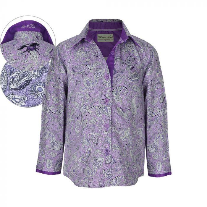 Thomas Cook Girls Wauchope LS Printed Shirt