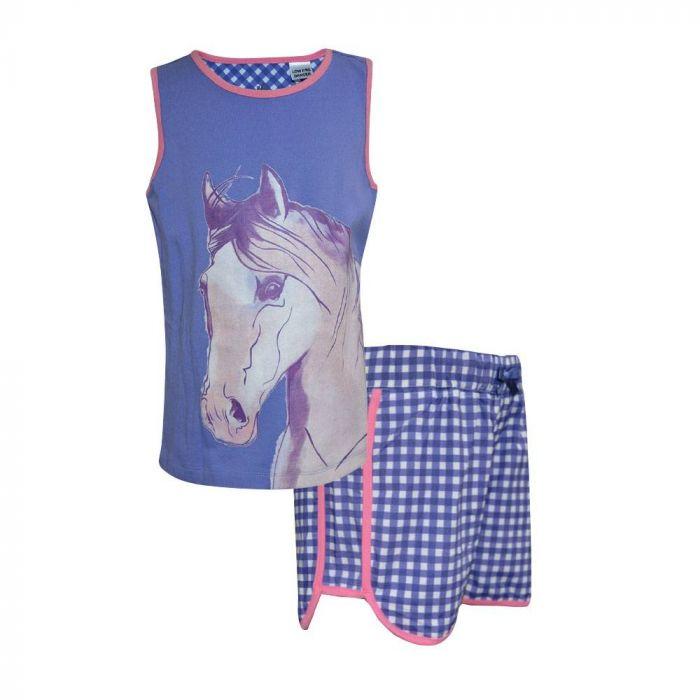 Thomas Cook Girls Pastel Horse PJ's