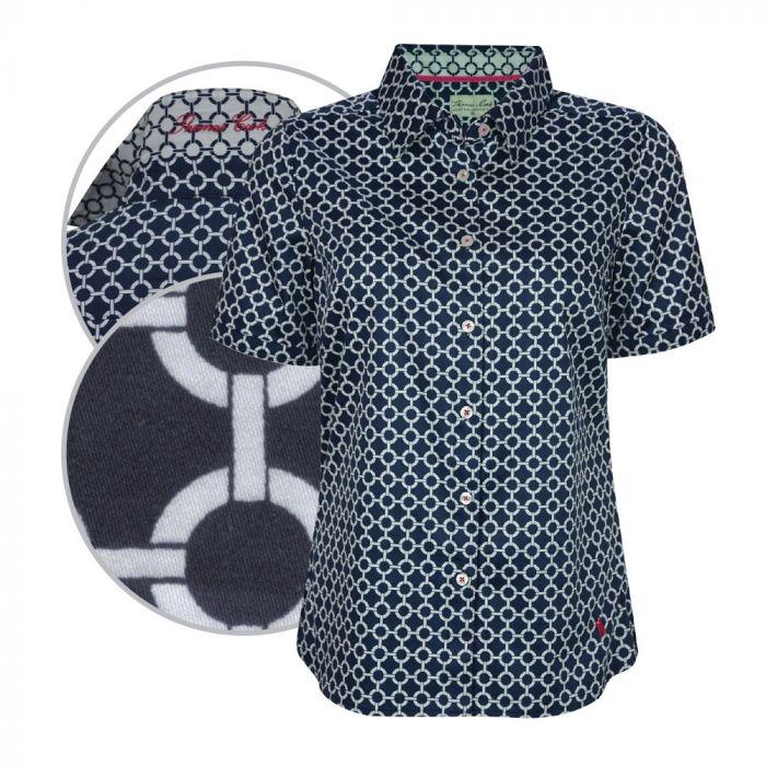 Thomas Cook Womens Tracey Print Short Sleeve Shirt