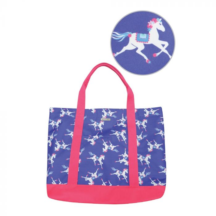 Thomas Cook Horse Print Every Day Tote - Multi