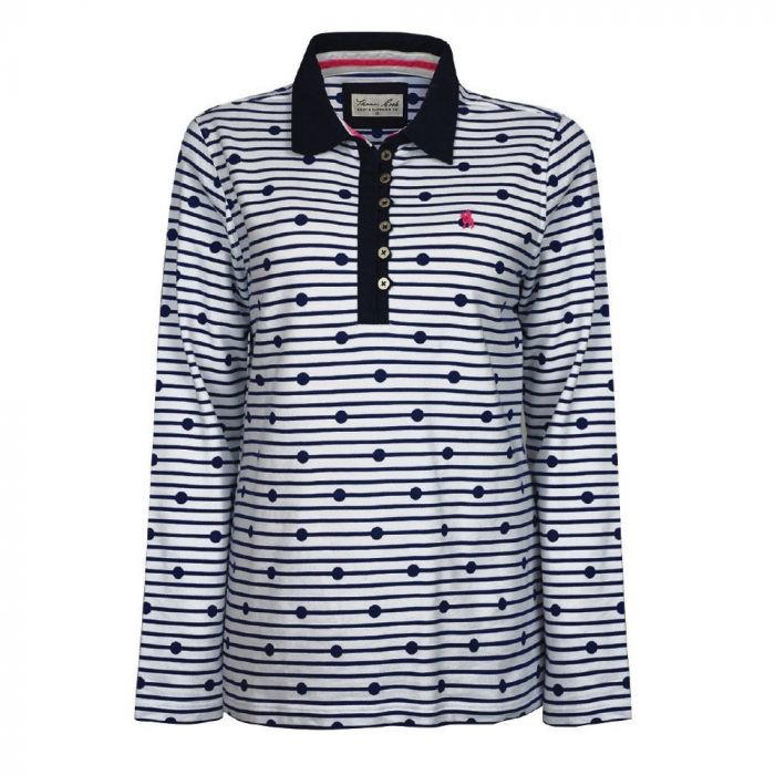 Thomas Cook Womens Jetty Stripe Rugby